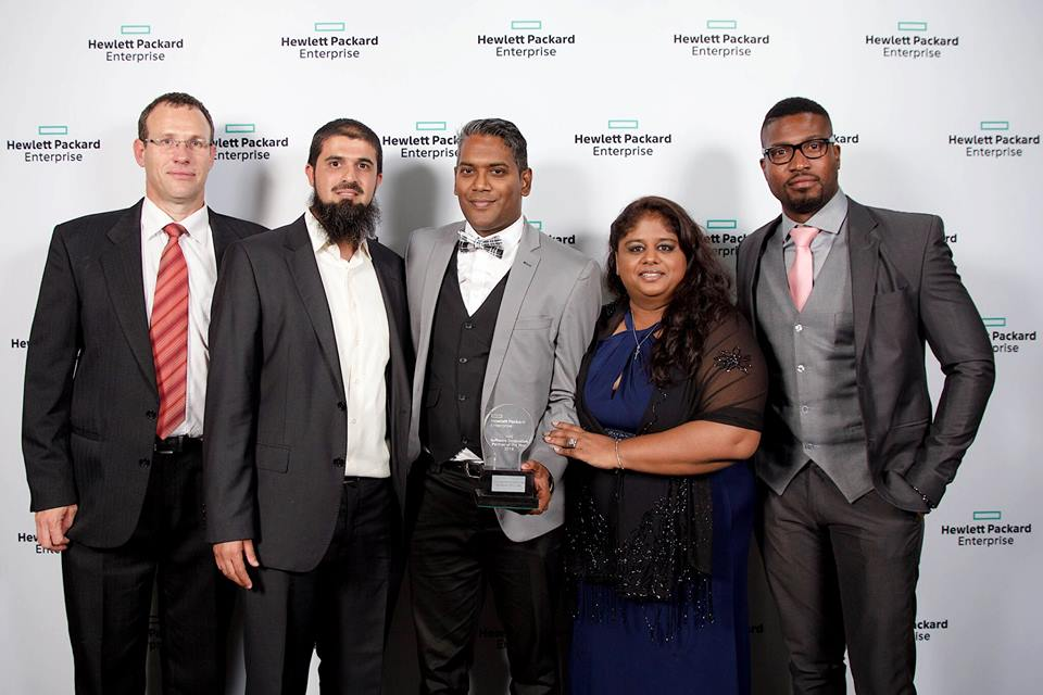 Cornastone wins Innovation Award at 2016 HPE Partner Awards